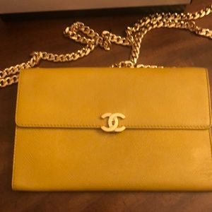 Authentic Chanel Crossbody with chain
